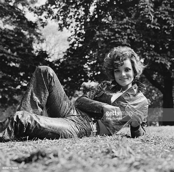 German actress Uschi Glas UK 22nd May 1971