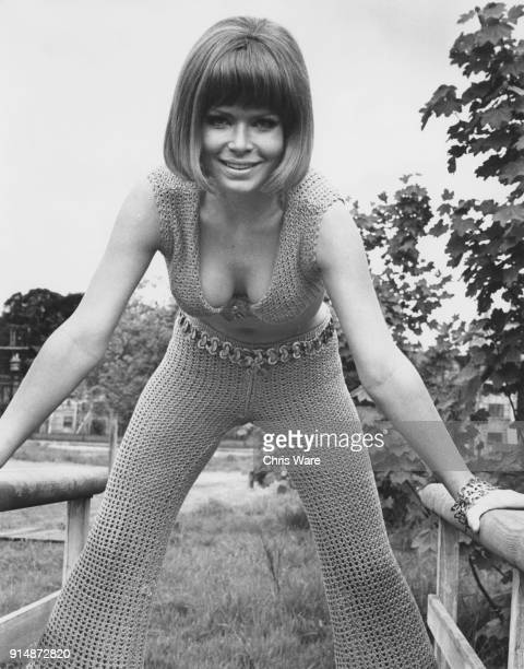 German actress Uta Levka who is in the UK to work on the thriller 'Scream and Scream Again' May 1969