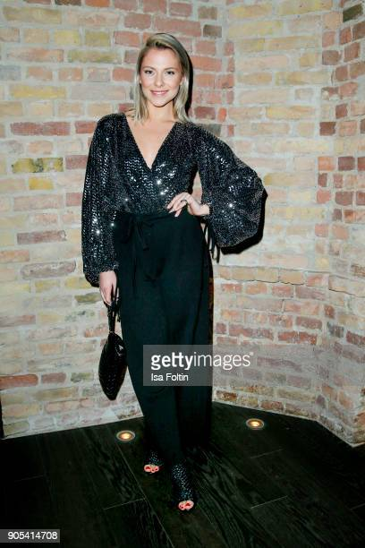 German actress Valentina Pahde during the Bunte New Faces Night at Grace Hotel Zoo on January 15 2018 in Berlin Germany