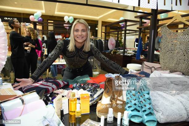 German actress Valentina Pahde during the 'Charity Promi Flohmarkt' at Mall of Berlin shopping mall on September 16 2017 in Berlin Germany