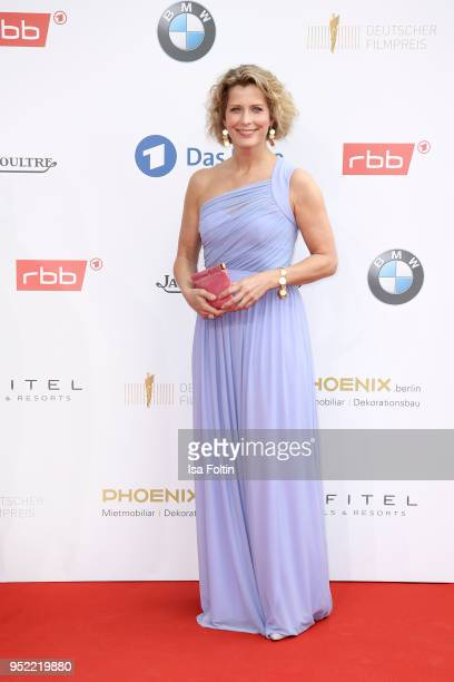 German actress Valerie Niehaus attends the Lola German Film Award red carpet at Messe Berlin on April 27 2018 in Berlin Germany