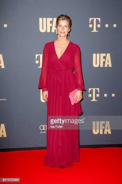 German actress Valerie Niehaus attends the UFA 100th anniversary celebration at Palais am Funkturm on September 15 2017 in Berlin Germany