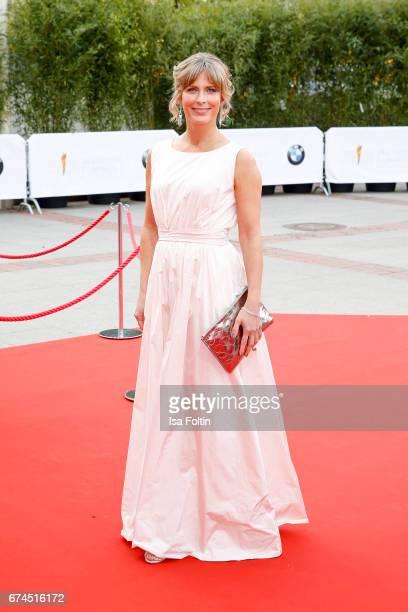 German actress Valerie Niehaus during the Lola German Film Award red carpet arrivals at Messe Berlin on April 28 2017 in Berlin Germany