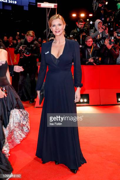 German actress Veronica Ferres attends the opening ceremony and The Kindness Of Strangers premiere during the 69th Berlinale International Film...