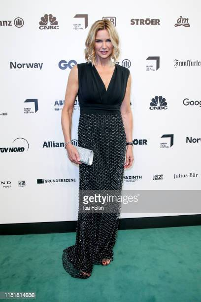 German actress Veronica Ferres during the Green Award as part of the Greentech Festival at Tempelhof Airport on May 24, 2019 in Berlin, Germany. The...