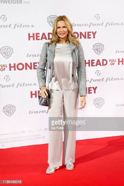 """German actress Veronica Ferres during the """"Head full of Honey"""" premiere at Zoo Palast on March 12, 2019 in Berlin, Germany."""