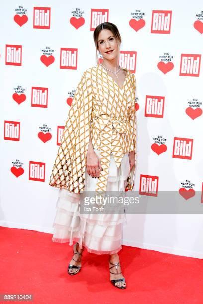 German Actress Wolke Hegenbarth attends the 'Ein Herz fuer Kinder Gala' at Studio Berlin Adlershof on December 9 2017 in Berlin Germany