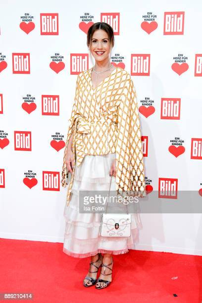German Actress Wolke Hegenbarth attends the 'Ein Herz fuer Kinder Gala' at Studio Berlin Adlershof on December 9 2017 in Berlin Germany