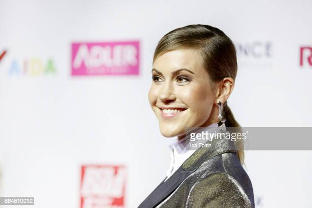 German actress Wolke Hegenbarth attends the 'Goldene Bild der Frau' award at Hamburg Cruise Center on October 21 2017 in Hamburg Germany