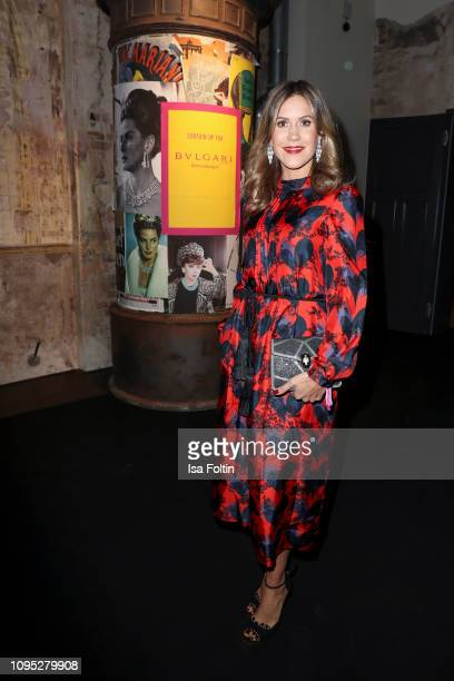German actress Wolke Hegenbarth during the Bulgari party with the motto #Starsinbulgari on February 7 2019 in Berlin Germany