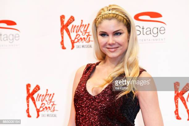 German actress Yvonne Woelke attends the 'Kinky Boots' Musical Premiere at Stage Operettenhaus on December 3 2017 in Hamburg Germany