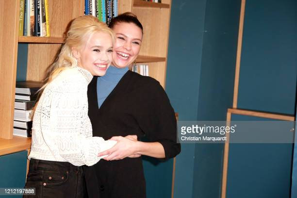 German Actresses Katharina Hirschberg and Harriet HerbigMatten attend at the photo call for the series Bibi Tina at Hotel Oderberger on March 13 2020...