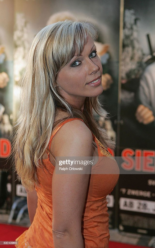 German adult film actress Kelly Trump attends the premiere