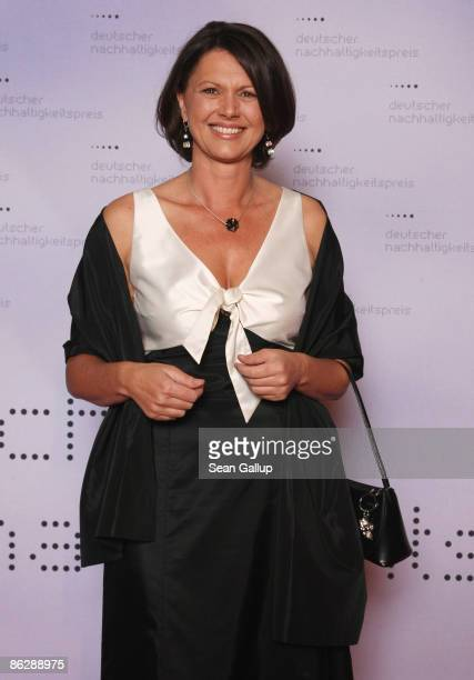 German Agriculture and Consumer Protection Minister Ilse Aigner attends the Sustainability Award 2009 at the German Historical Museum on April 29,...