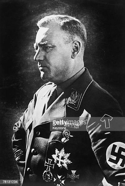 German army officer Viktor Lutze Hitler's Stabschef or Chief of Staff 1939