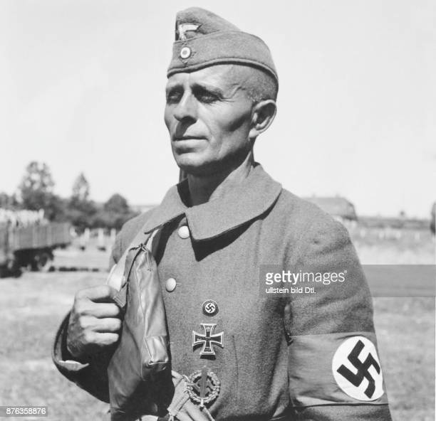 German army Wehrmacht experienced member of Organisation Todt Blenck /Aletan Vintage property of Ullstein Bild