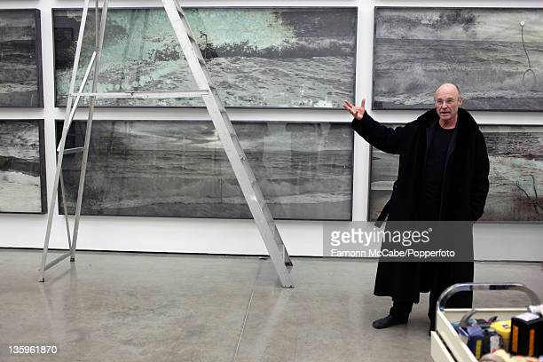 German artist Anselm Kiefer at White Cube Gallery in London 9th March 2010