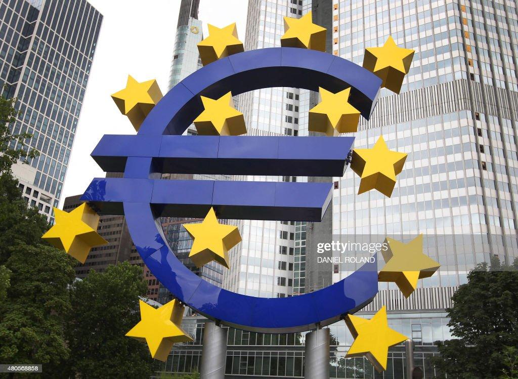 GERMANY-GREECE-EU-EURO : News Photo