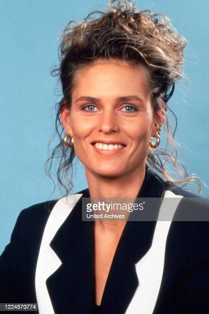 German athlete Katrin Krabbe circa 1990