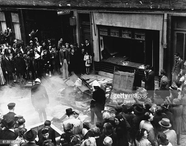 German atrocities on the eve of the Jewish Passover Anvers Belgium 1941