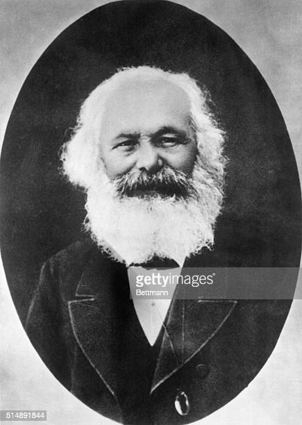 German author Karl Marx, taken in Algiers, Algeria. This is the last known photograph of the political philosopher.