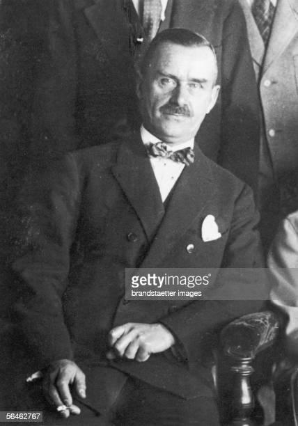 German Author Thomas Mann Photography Around 1925 [Thomas Mann deutscher Schriftsteller Photographie um 1925]