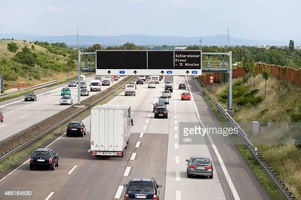 Deutsche Autobahn 3, traffic information system