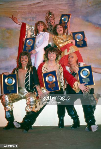 German band Dschinghis Khan, Germany, 1970s.