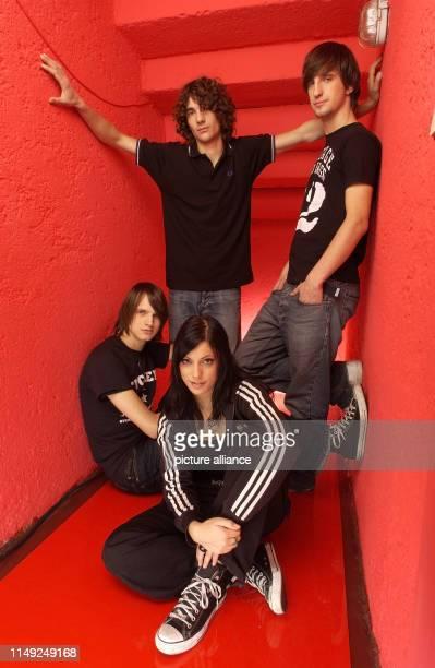 German band Silbermond on 3 December 2004 in Munich.