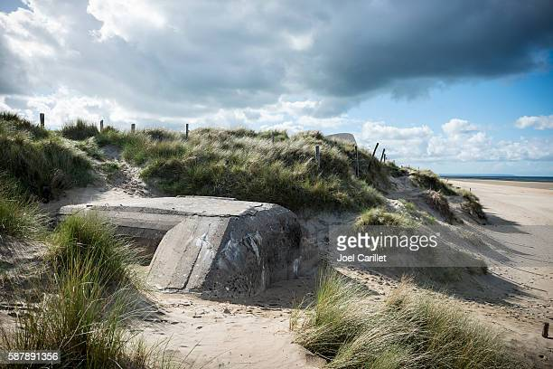 German bunker on Utah Beach, Normandy, France