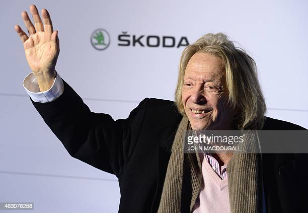 German businesman and self proclaimed last playboy of Berlin Rolf Eden poses for photographers upon arrival for the Cinema for Peace gala in Berlin...