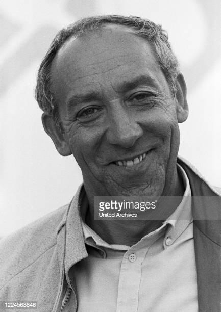 German cabaret artist comedian and actor Dieter Hallervorden at Hamburg Germany circa 1980