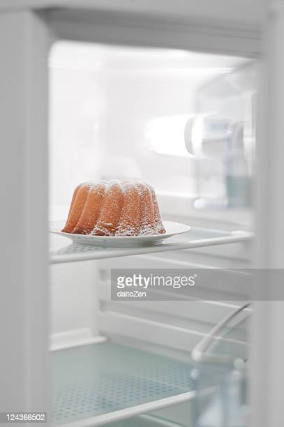 German cake in fridge