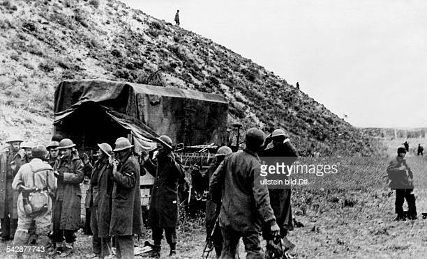 German campaign in Greece: British soldiers are taken prisoners of war