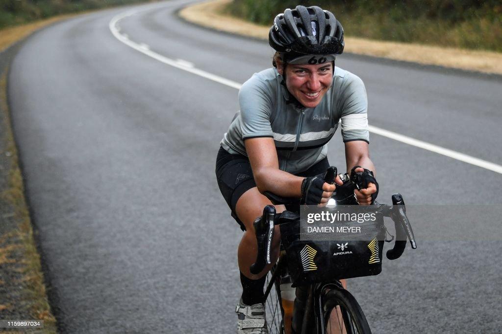 CYCLING-ENDURANCE-ULTRA-TRANSCONTINENTAL : Fotografía de noticias