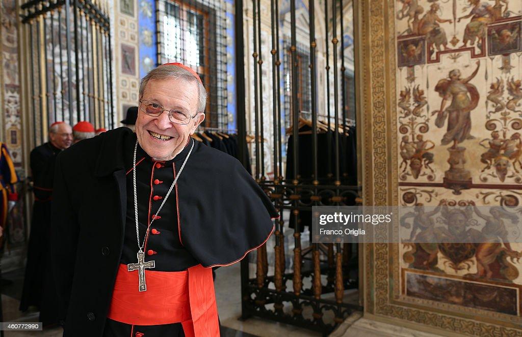 Pope Francis Exchanges Christmas Greetings With The Roman Curia : Fotografía de noticias