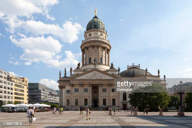 german cathedral in berlin - gwengoat stock pictures, royalty-free photos & images