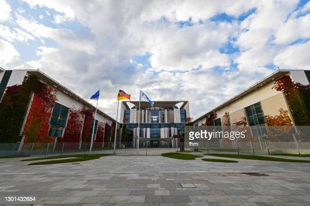 german chancellery(berlin, germany) - german chancellery stock pictures, royalty-free photos & images