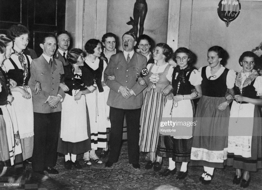 Goebbels' Birthday : News Photo