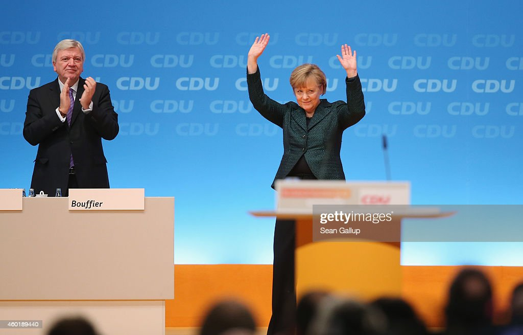 German Christian Democrats  Hold Annual Party Congress