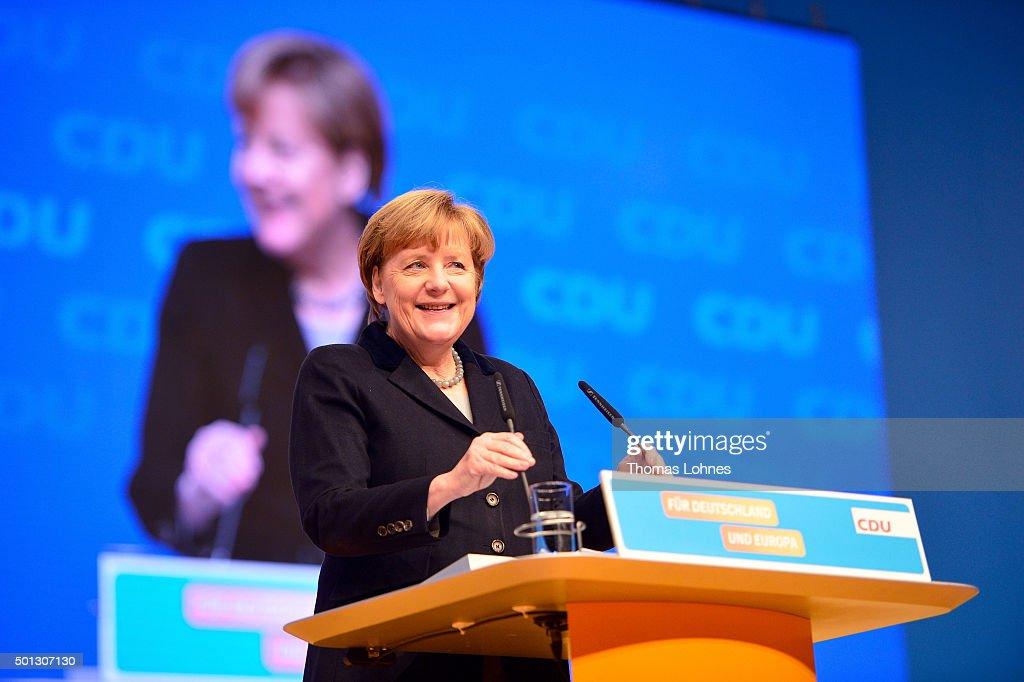 Christian Democrats (CDU) Hold Annual Federal Congress : News Photo