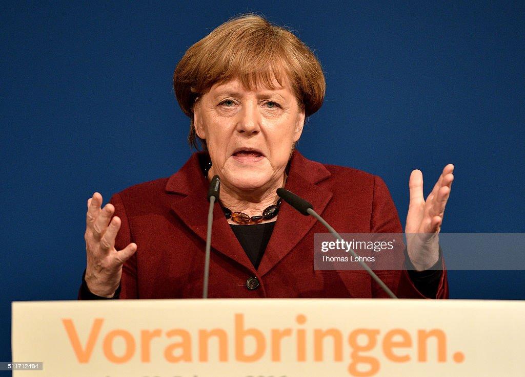 CDU Campaigns In Rhineland-Palatinate