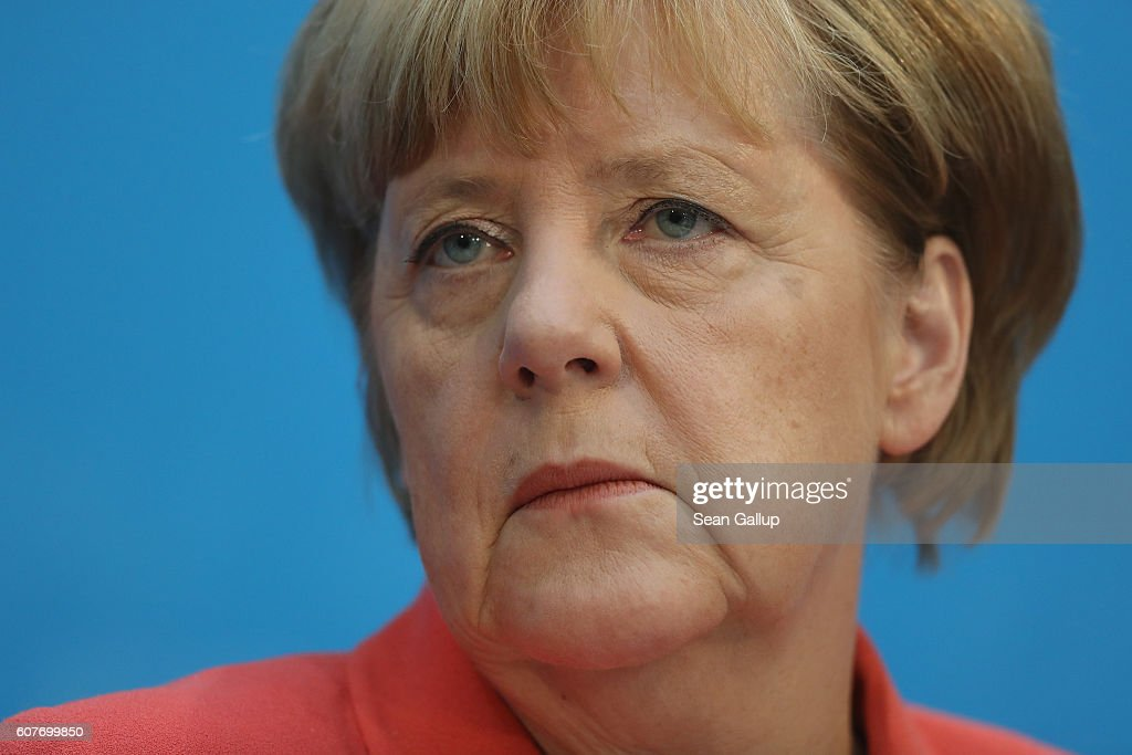 Parties React To Berlin Elections Aftermath : News Photo