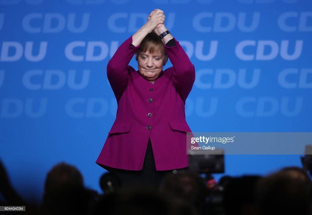 CDU Holds Party Congress, Elects General Secretary : ニュース写真