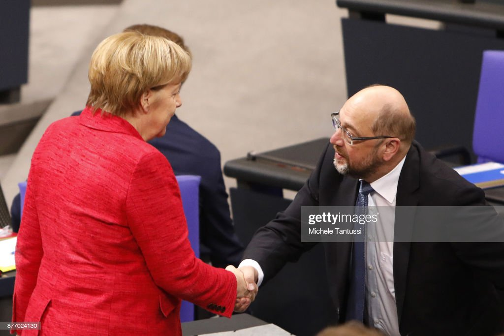 Bundestag Meets For First Time Since Coalition Failure : News Photo
