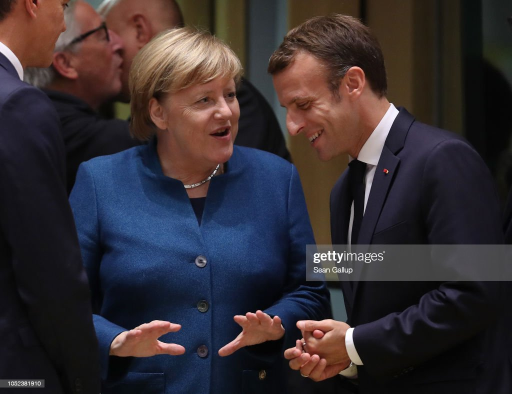 The October Euro Summit Takes Place In Brussels : ニュース写真