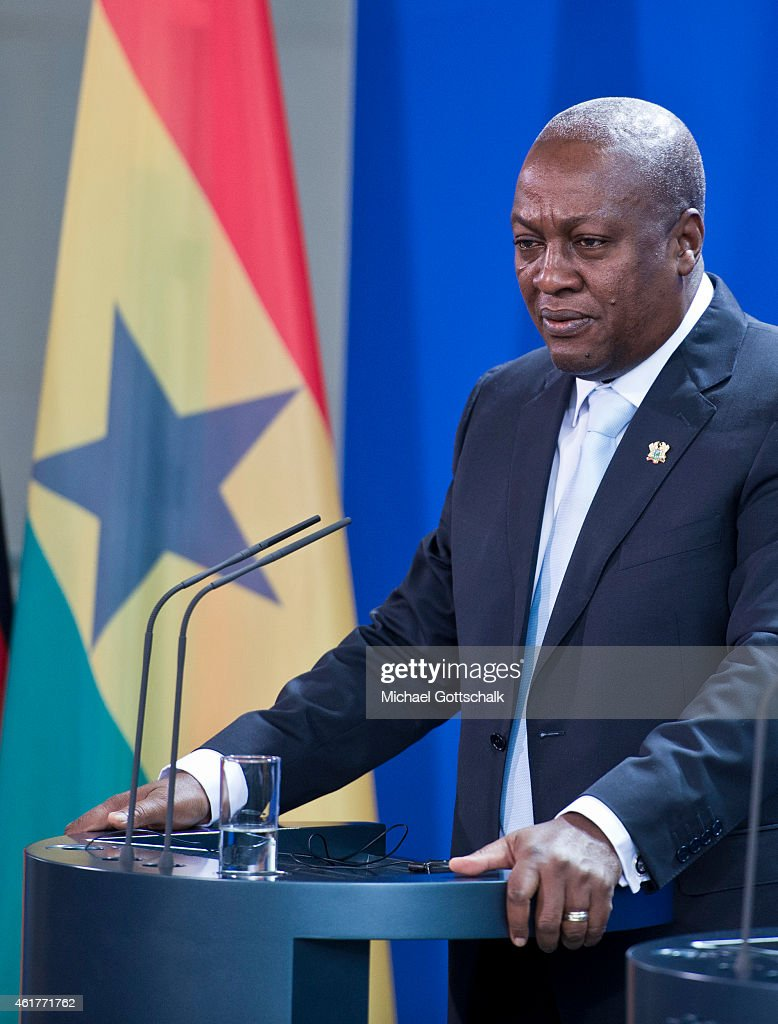 Ghanas President Mahama Visits Berlin