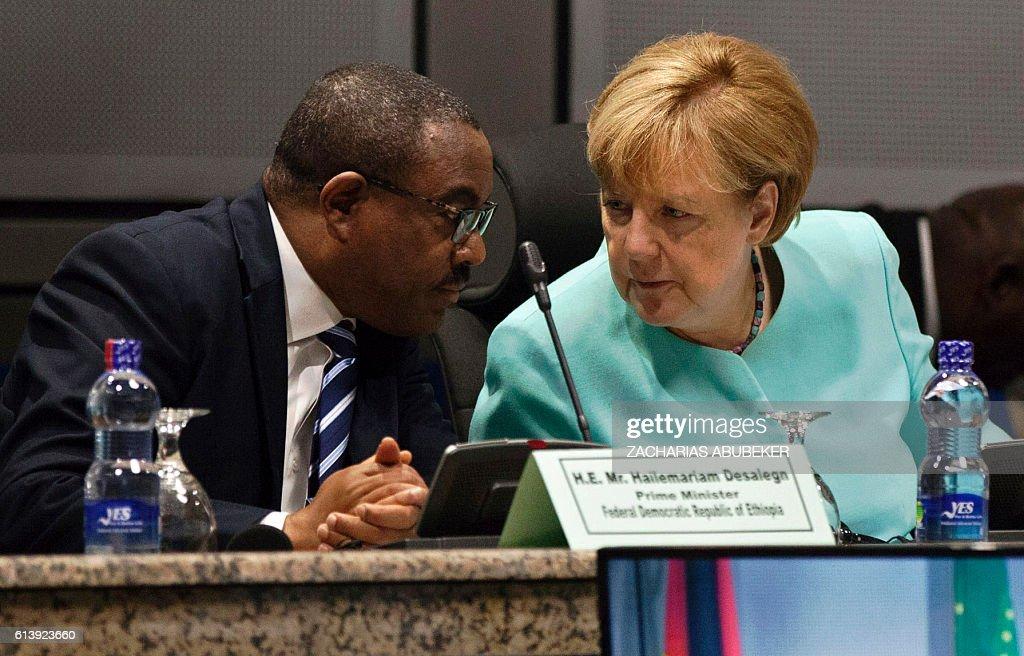 ETHIOPIA-GERMANY-DIPLOMACY-POLITICS : News Photo