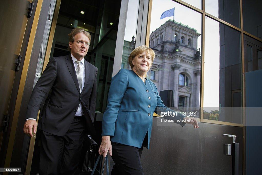 German Social Democrats and German Christian Democrats Enter Coalition Talks