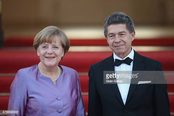 2 549 Angela Merkel Husband Photos And Premium High Res Pictures Getty Images